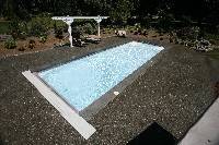 Luxor Deep Fiberglass Pool in Henderson, NV